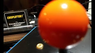 Classic Game Room - CHOPLIFTER review for ColecoVision