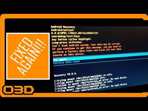 Fixed Again – Real Time! Raw Seicane Problem Solving Android Recovery Screen Fix