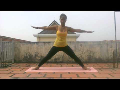 Yoga class, Anna