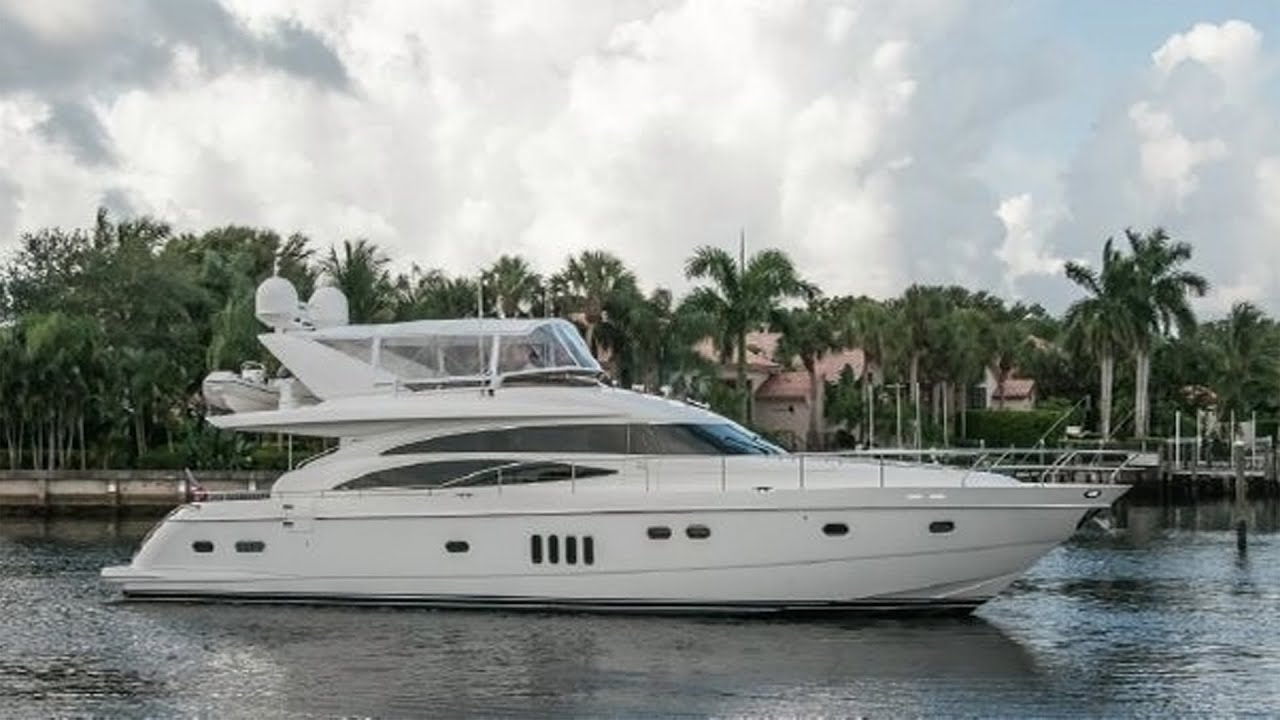 Sara Bella 2006 70 Viking Sport Cruiser By Princess