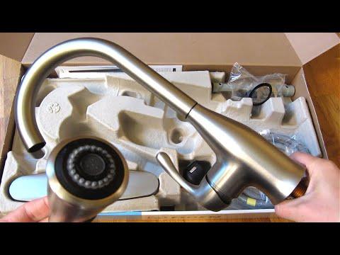 handle high arc kitchen faucet