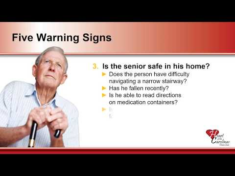 Warning Signs That Home Care is Needed From Heart of the Carolinas