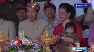 Berpakaian Adat Bali, Jokowi Juga Ikut Jadi Peserta Pawai PKB 2019 - JPNN.COM