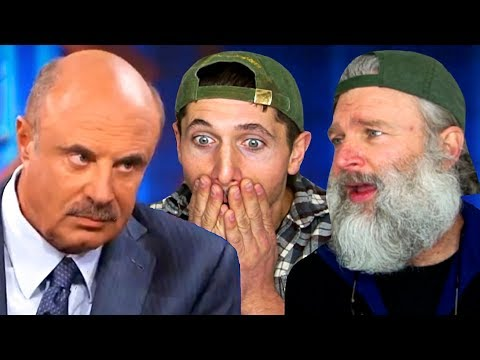 DR. PHIL Says We're Going To BREAK UP Because Of Our Age Gap!! (REACTION)