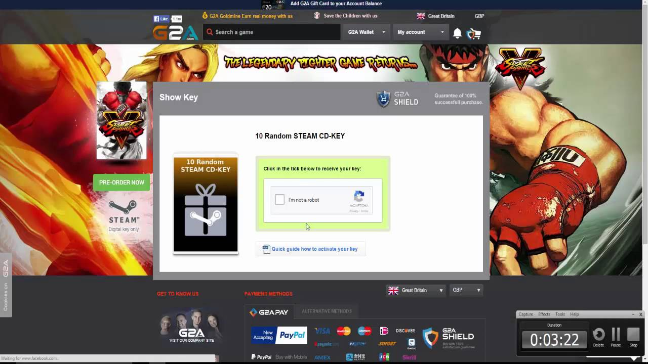 JUST MY LUCK! G2A Random Steam Keys Opening with Pete