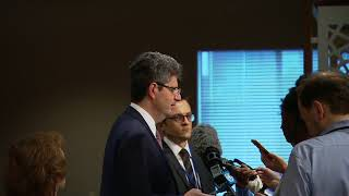 France on US withdraw from UNESCO - Media Stakeout (12 October 2017)