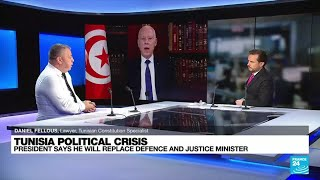 Tunisian democracy in crisis after president ousts government • FRANCE 24 English
