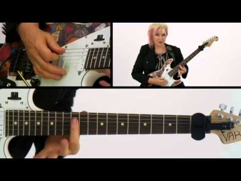 50 Ultra-Intervallic Licks - #46 Purple Maze - Guitar Lesson - Jennifer Batten