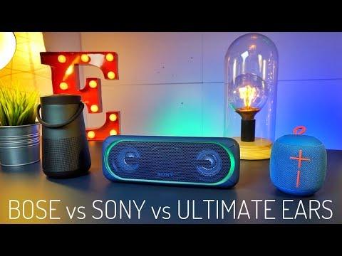 BOSE Revolve+ vs SONY XB40 vs UE Wonderboom - I MIGLIORI speaker Bluetooth ESTATE 2017