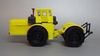 Трактор Кіровець К-701 - Масштабна модель виробництва ''Двигун'' (р. Ленінград / Санкт-Петербург)