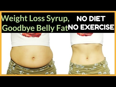 Homemade Rapid Weight Loss Syrup – Lose Weight FAST 10KG in 10 days Naturally, NO DIET-NO EXERCISE