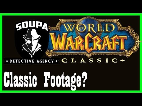 "Did Blizzard ""leak"" Classic WoW footage? Let's investigate. [World of Warcraft SDA 1]"