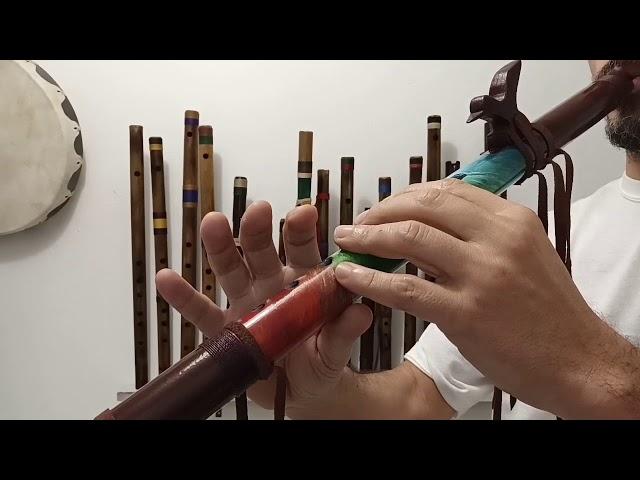 Flauta Nativa Colibri A