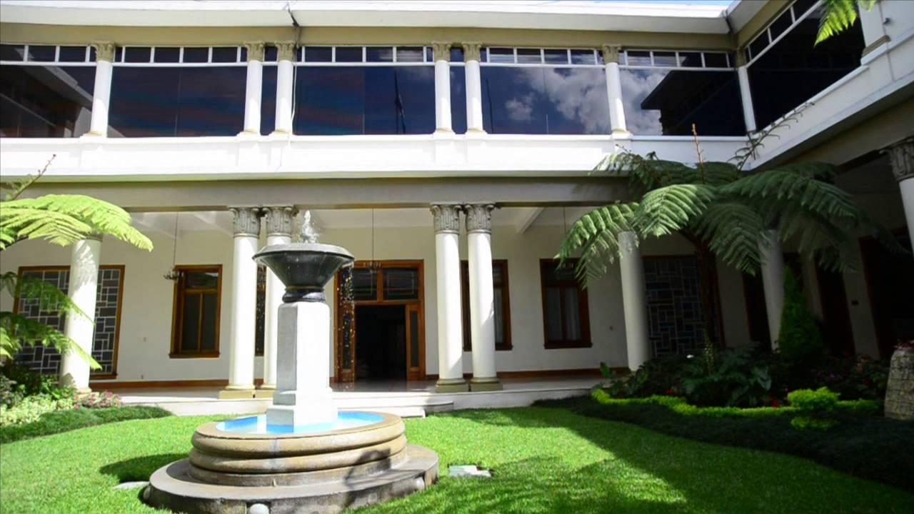 As es casa presidencial la nueva residencia de jimmy morales youtube - Casa los pinos ...