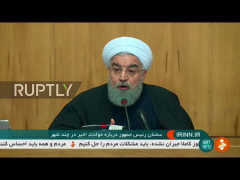 Iran: Citizens free to 'criticise', not to 'destroy' - Rouhani reacts to Iranian protests