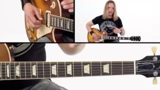 Rock Rhythm Guitar Lesson - #28 Classic Hard Rock Breakdown - Survival Guide - Angus Clark
