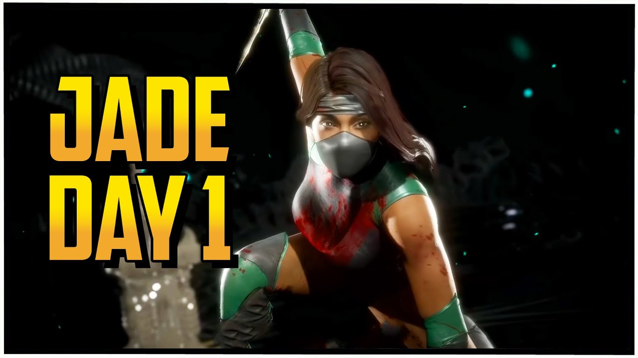 Learning Jade   DAY 1  (Mortal Kombat 11 Online Matches)