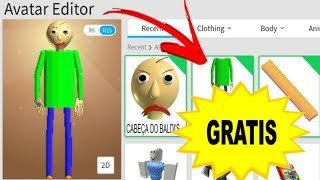 HOW TO TURN BALDI's on Roblox WITHOUT SPENDING ROBUX!!!