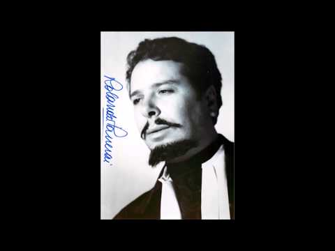 "Rolando Panerai ""Cruda funesta smania"" Lucia di Lammermoor Berlin 1955"