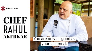 Chef Rahul Akerkar Talks About His Life Journey and More | Culinary Talks | Culinary News