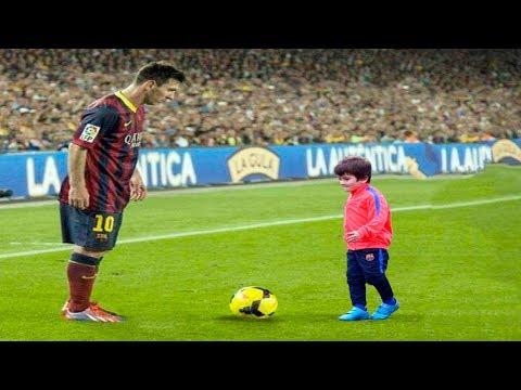 Kids Vs Footballers • Football Players humiliating Little Kids • Ankle Breaking Skills