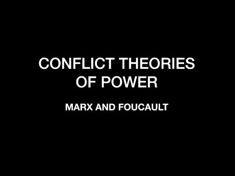 Sociology for UPSC : CONFLICT Theories of Power - Marx and Foucault - Lecture 29