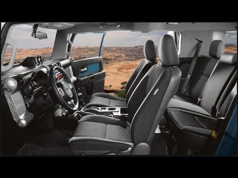 2016 Toyota Fj Cruiser Interior Youtube