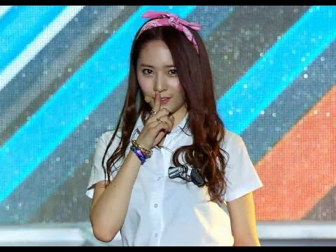 【TVPP】f(x) - Rum Pum Pum Pum (Pink Ver.), 에프엑스 - 첫사랑니 @ Show! Music Core Live in Sokcho