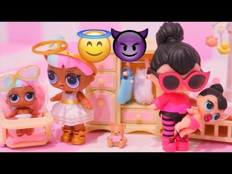 Bonecas LOL Surpresa Lil Sisters Encontrando Boneca ULTRA RARA -Brinquedonovelinhas