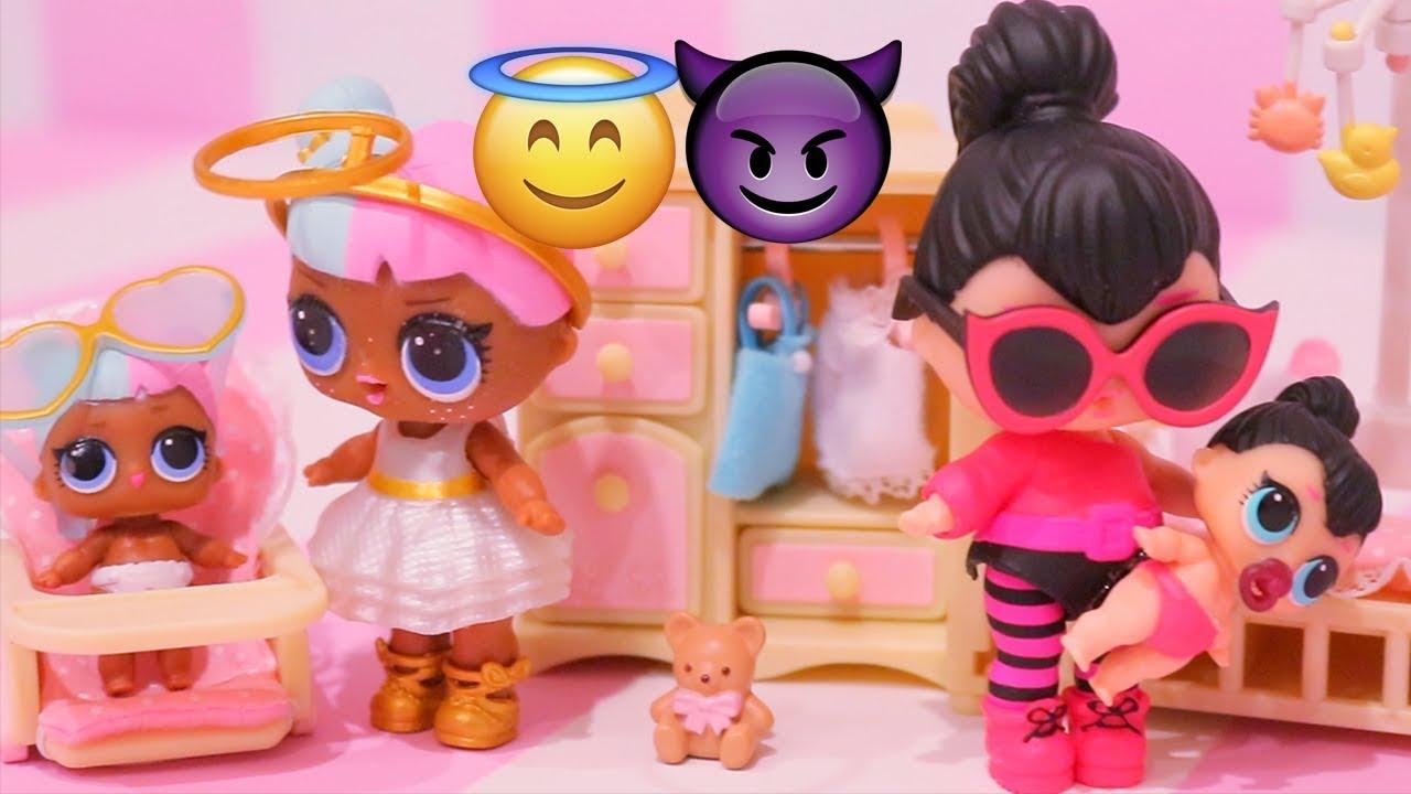 Bonecas Lol Surpresa Lil Sisters Encontrando Boneca Ultra