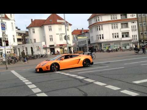 Carspotting Oldenburg: Cayman GT4, GTR R35 & Gallardo vs Boxster