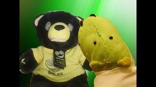 ALTON TOWERS SMILER Singing & Dancing Bear. COOL MP3 SPEAKER Ft. Turkey Hamster.