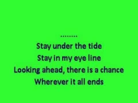 Under The Tide (Chvrches) karaoke