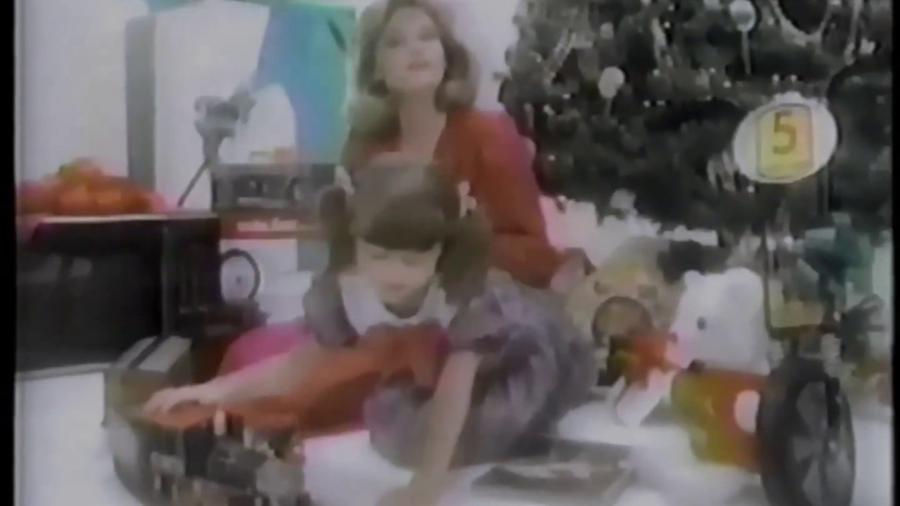 Sears Department Stores 1984 Christmas Wish Book 1984 TV Christmas  Commercial HD