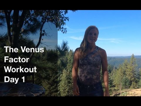 Venus Factor Workout Day 1,