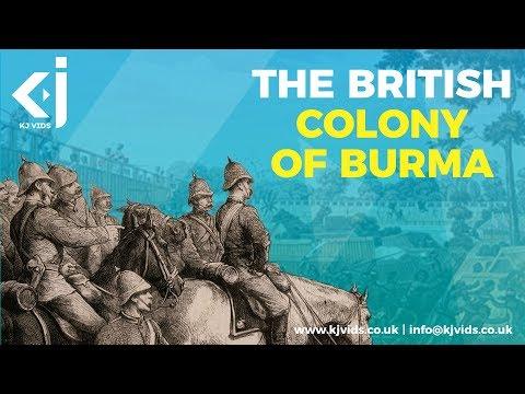The British Colonisation of Burma