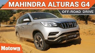 Off Road experience with Alturas G4 by Mahindra | Motown India