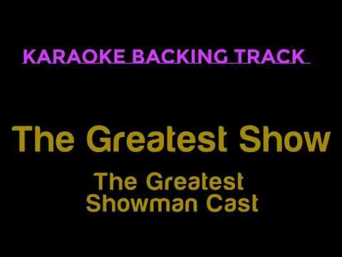 The Greatest Show    The Greatest Showman Cast  Karaoke Instrumental With Lyrics
