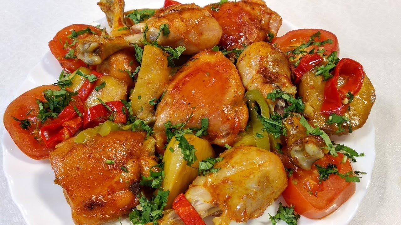 Çox Ləzzətli Nar Qovurma Resepti | Pomegranate Chicken with Chestnuts - Azerbaijani cuisine