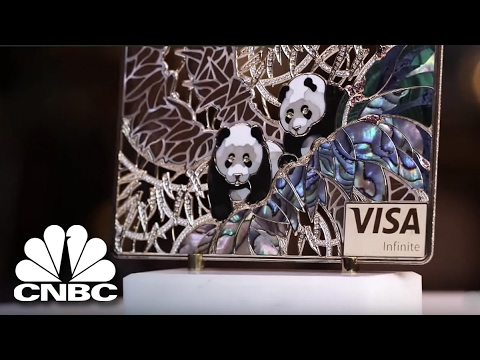Check Out The Most Over-The-Top Credit Cards Ever Made | Secret Lives Super Rich | CNBC Prime