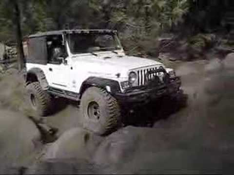 Off road trailer on rubicon trail with jeep jk 2012 doovi for Starr motors off road day 2017