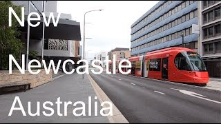The new Newcastle Australia. 2019