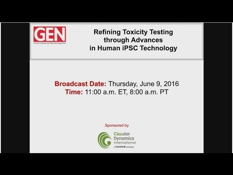 Refining Toxicity Testing through Advances in Human iPSC Technology