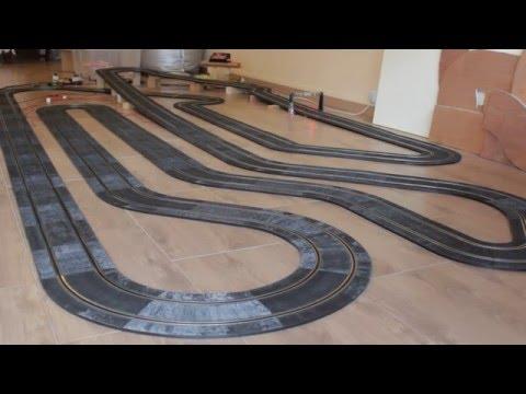 Slot Pioneer Camaro on Ninco track