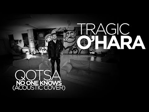 Tragic OHara and Brownbear  QOTSA  No One Knows Acoutsic Cover