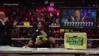 Seth Rollins saying NO