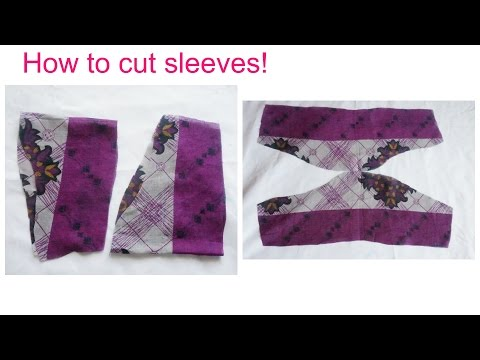 How to cut sleeves easily (malayalam)