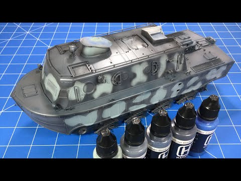 Hobby Boss LWS Part 2 Camo Painting
