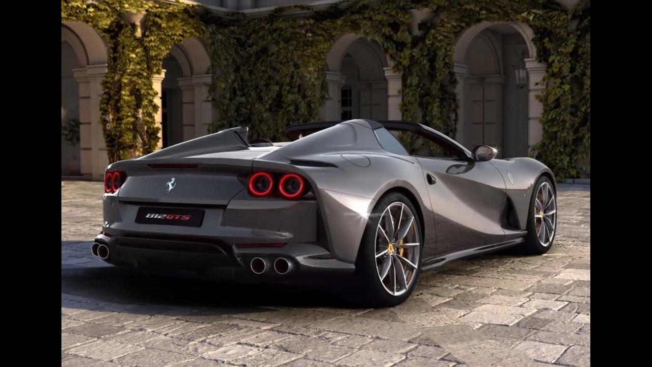 2021 Ferrari 812 GTS startup and reveal. - YouTube