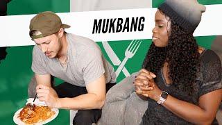 Boyfriend Tries Nigerian Food